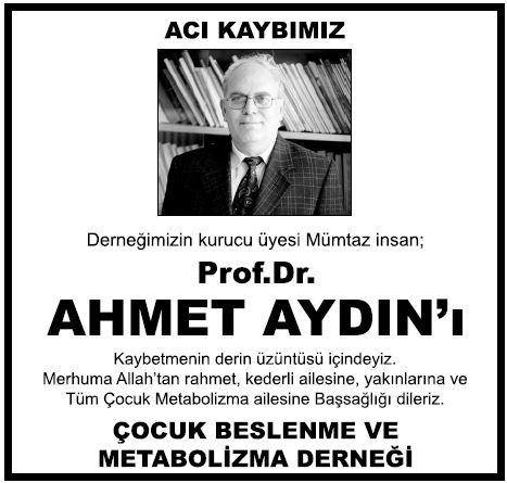 prof-dr-Ahmet-Aydin vefat