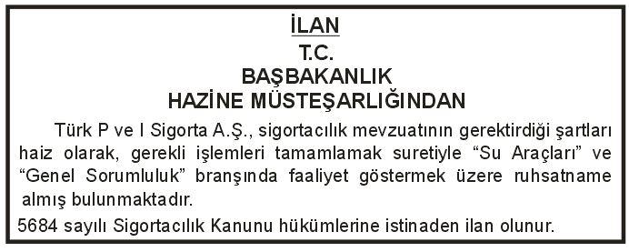 türk p ve i